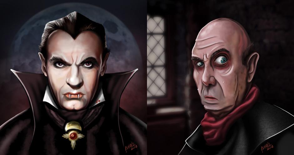 Nosferatu personnages